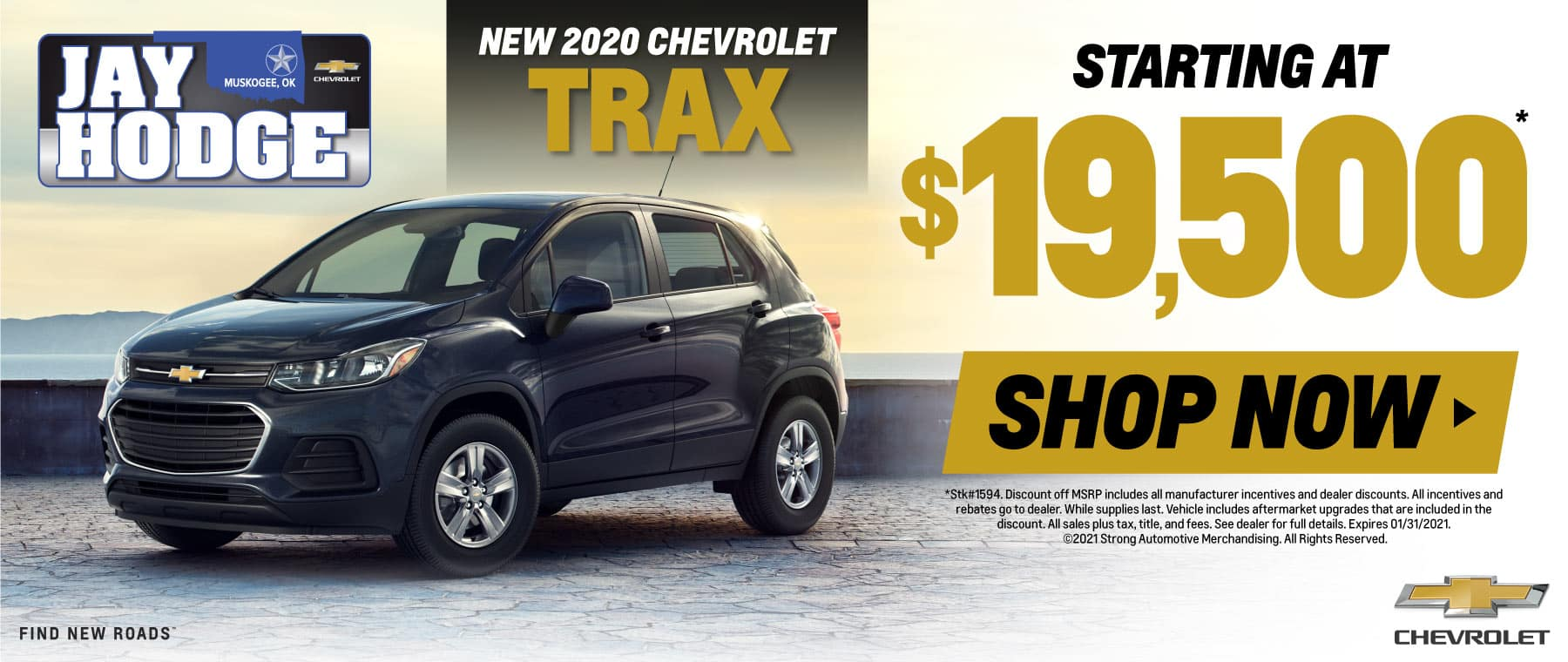 New 2020 Chevrolet Trax - Starting at $19,500 - Shop Now