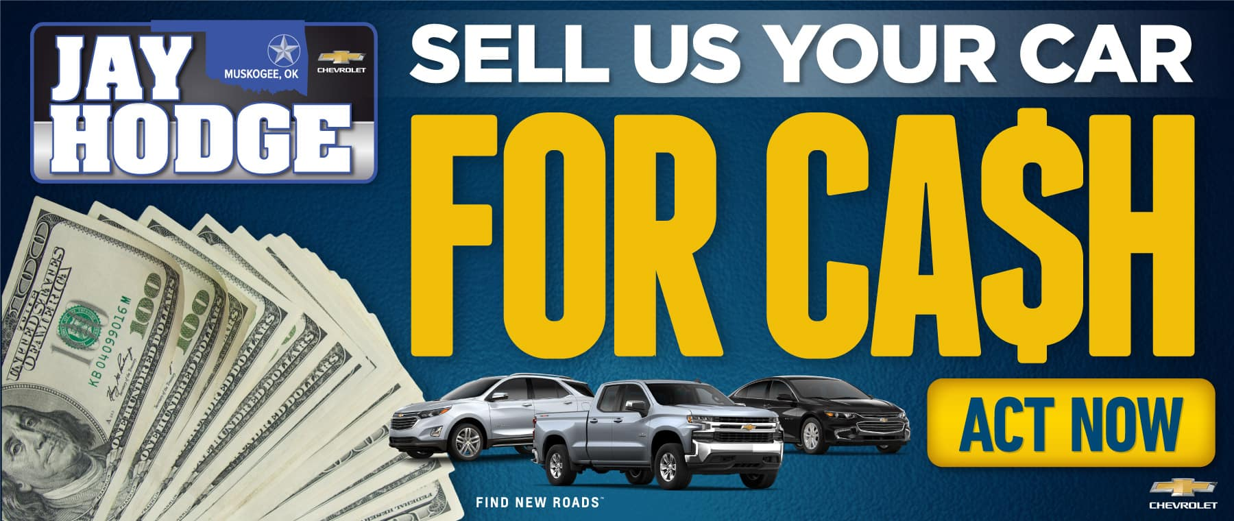 Sell Us Your Car for CASH - Act Now