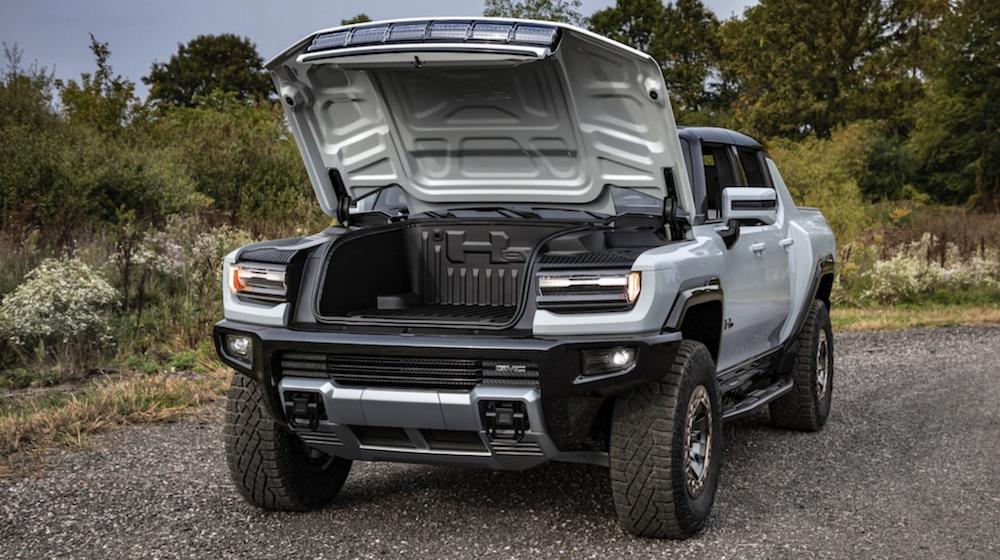 2022 GMC Hummer EV Trunk