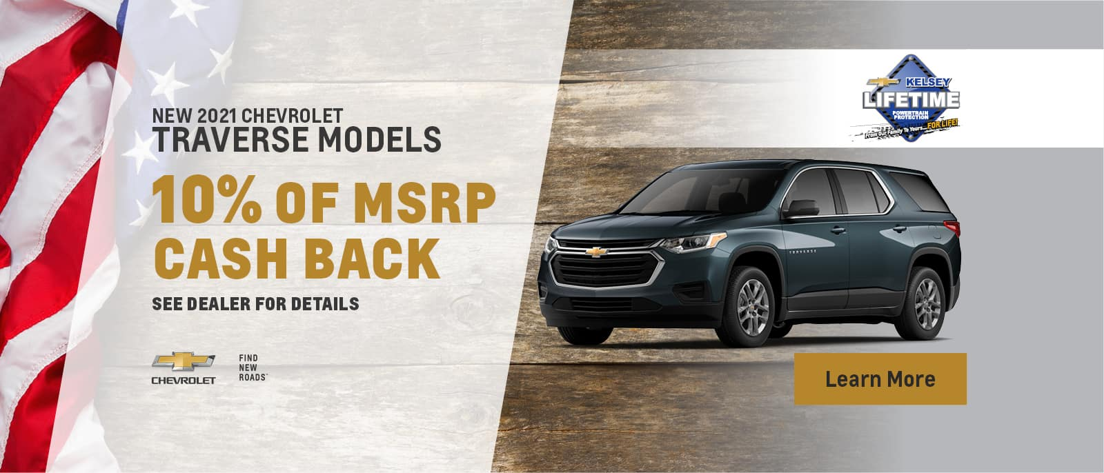 2021 Chevy Traverse Models