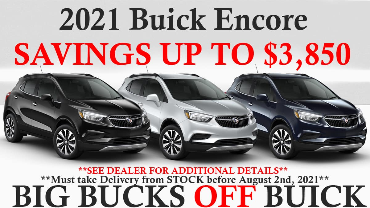 Buick Savings Encore