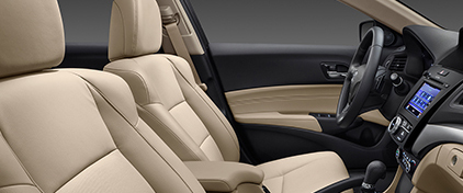 2016 Acura ILX front seats