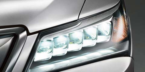 2016 Acura MDX LED Jewel Eye Headlamps