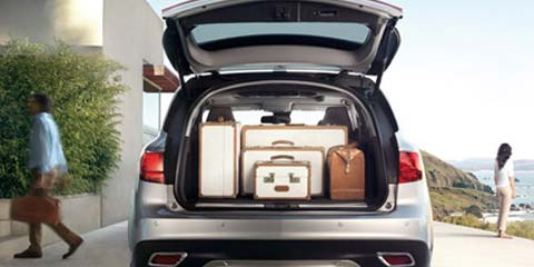2016 Acura MDX Power Tailgate