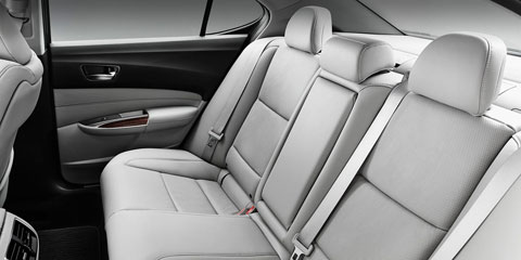 2015 Acura TLX Rear Seating