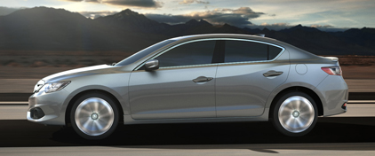 2017 Acura ILX Body Structure