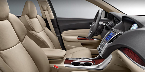 2017 Acura TLX Front Seating
