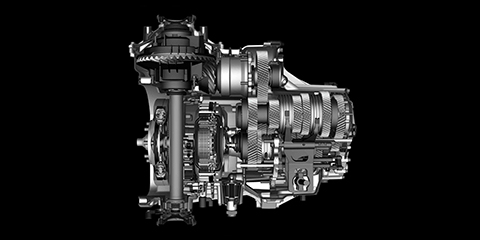 2017 Acura NSX 9-Speed Dual Clutch Transmission