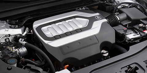 2017 Acura RLX 3.5L V6 Engine