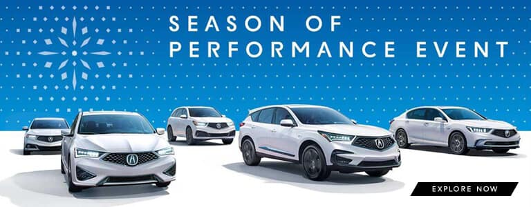 2018 Acura Season of Performance from Your Kentucky Acura Dealers