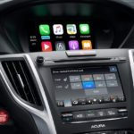 2018 Acura TLX Interior Technology Stack