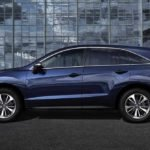 2018 Acura RDX Exterior Side Profile Blue