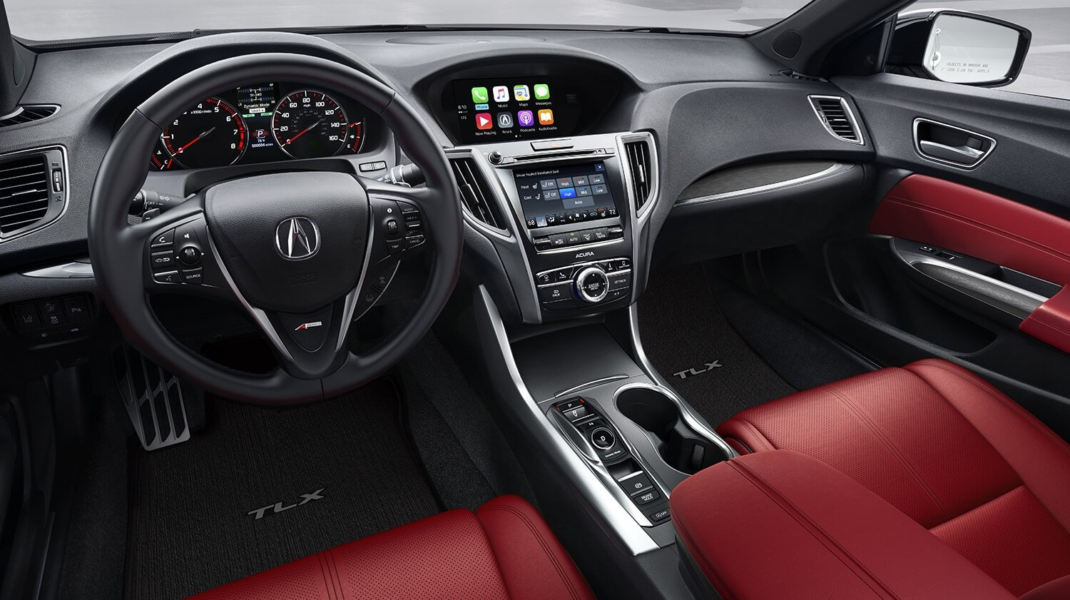 2018 Acura TLX Interior A-SPEC Package