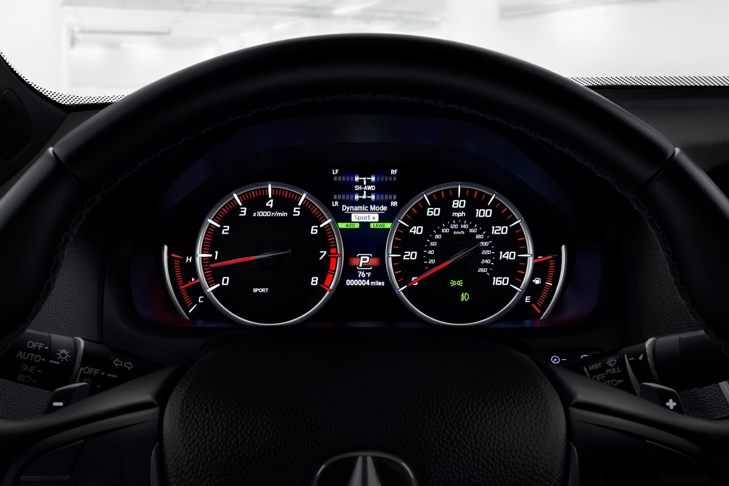 2018 Acura TLX Interior Gauges