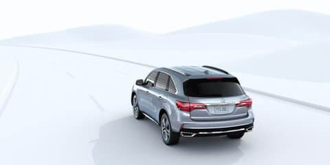 2018 Acura MDX Road Departure Mitigation System