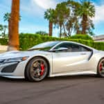 2018 Acura NSX Exterior Palm Trees Driver Side