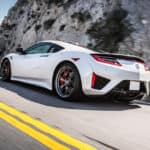 2018 Acura NSX Exterior Highway Driver Side