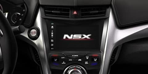2018 Acura NSX Apple CarPlay and Android Auto