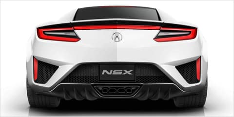 2018 Acura NSX Rear Design