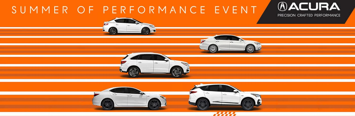 Acura Summer of Performance Event at your Kentucky Acura Dealers