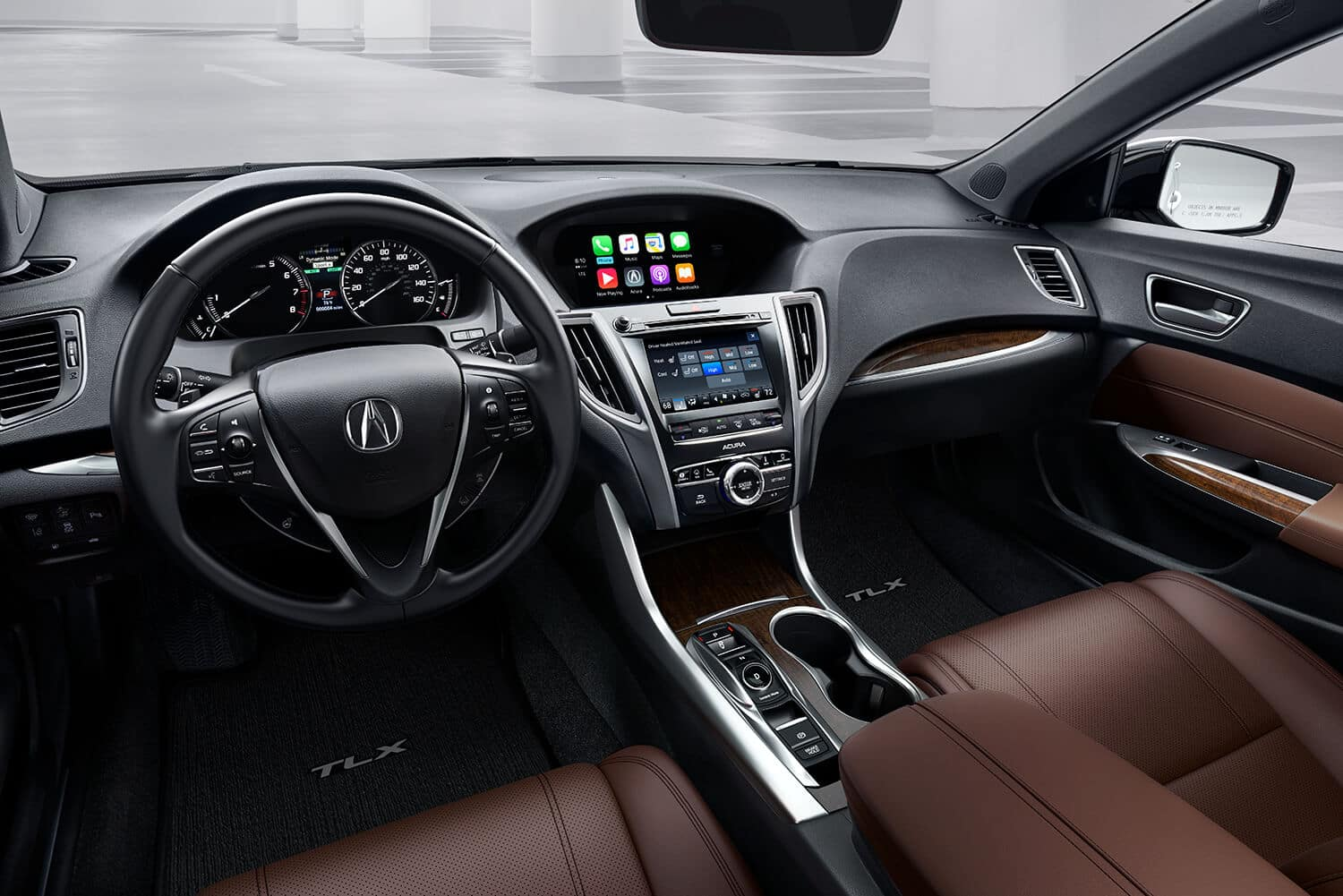 2020 Acura TLX Interior Cockpit Overview