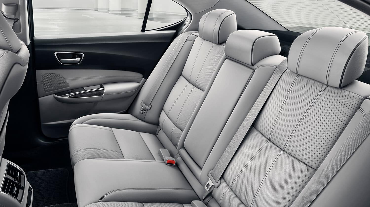 2020 Acura TLX Interior Rear Seating