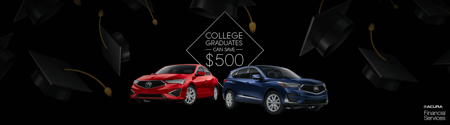 2019 Acura College Graduate Program Slider