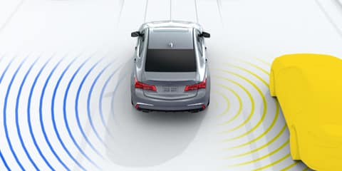 2020 Acura TLX Blind Spot Information System