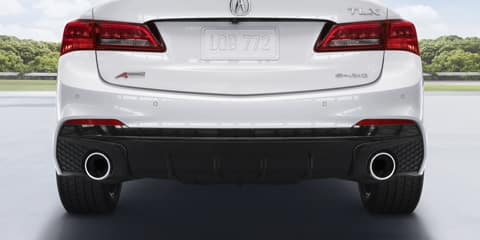 2020 Acura TLX Front and Rear Parking Sensors