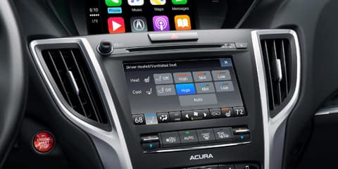 2020 Acura TLX On Demand Multi-Use Display