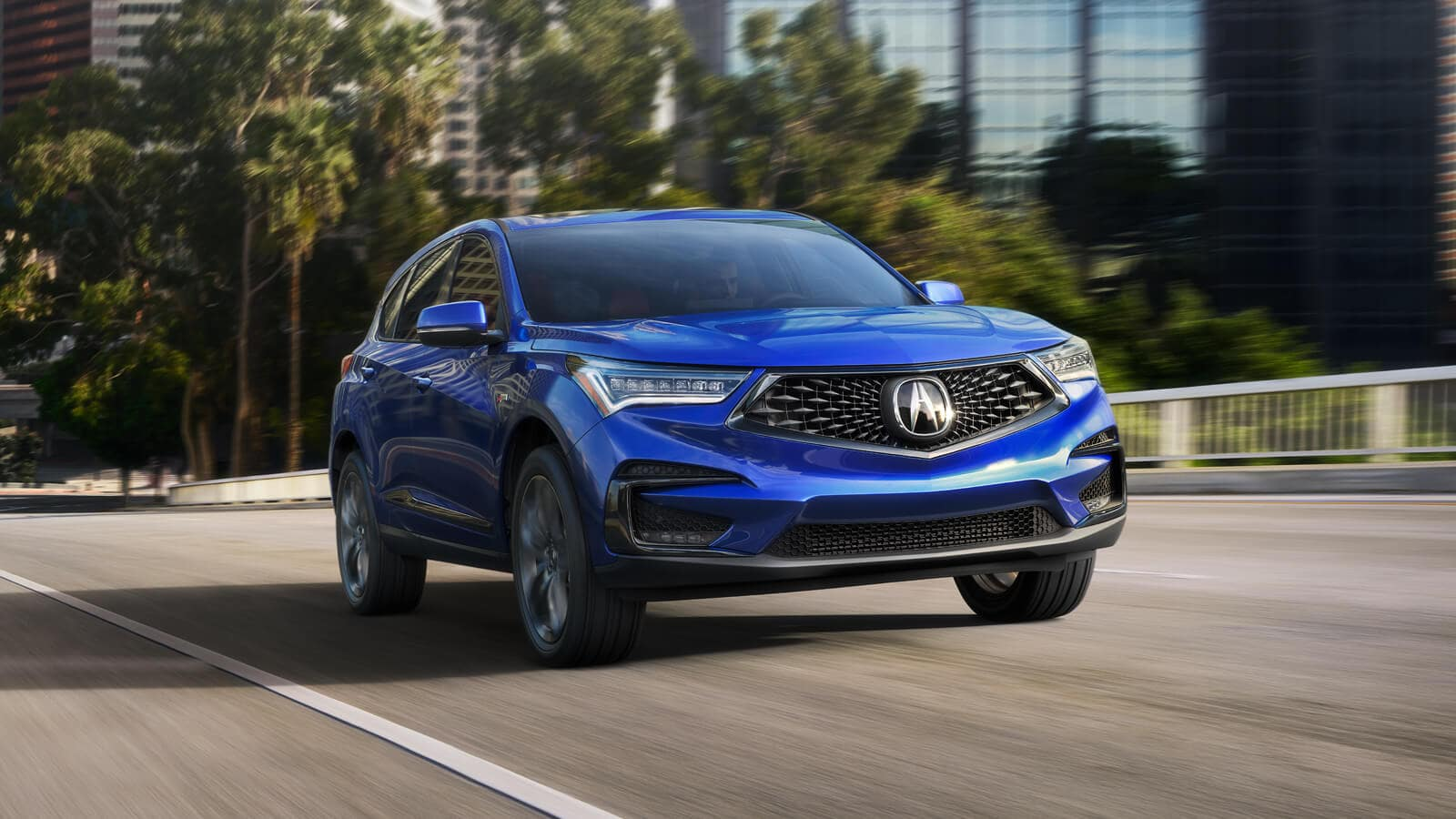 2020 Acura RDX A-Spec Exterior Front Angle Passenger Side