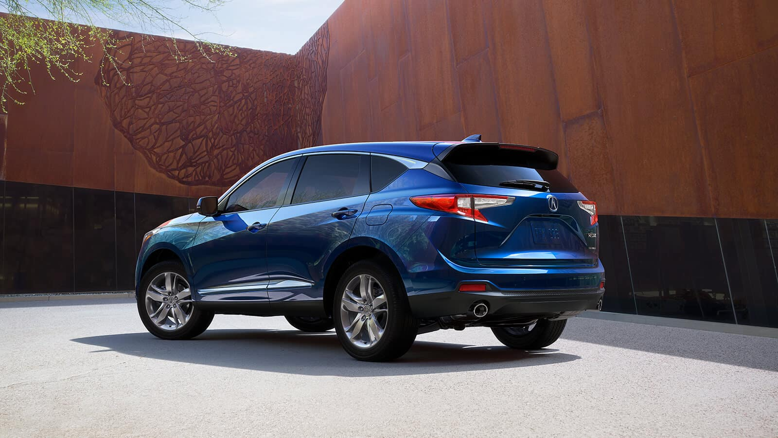 2020 Acura RDX Exterior Rear Angle Driver Side