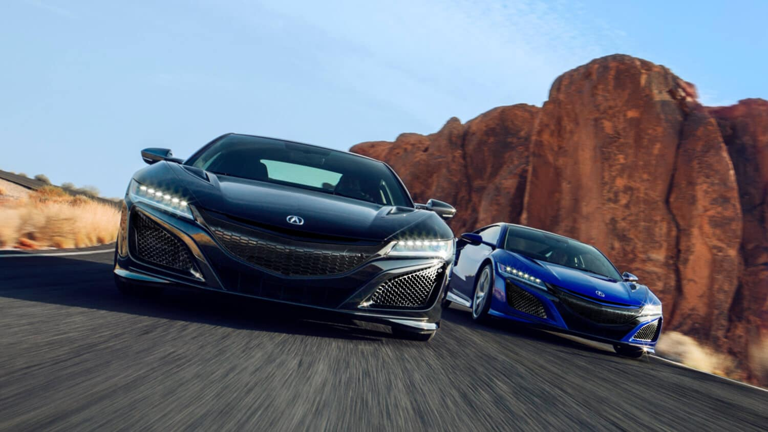 2020 Acura NSX Exterior Front Angle Multi-Vehicle