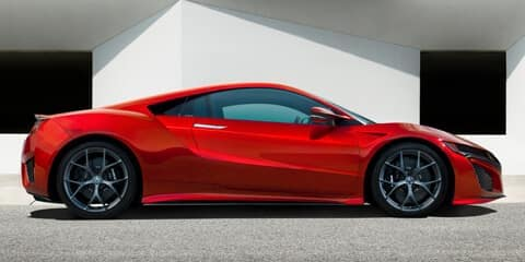 2020 Acura NSX Angles and Contrasts