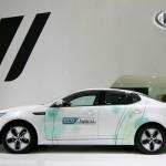 Kia Hybrid display