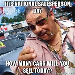How To Be A Good Car Salesman >> 5 Characteristics Of A Good Car Salesperson