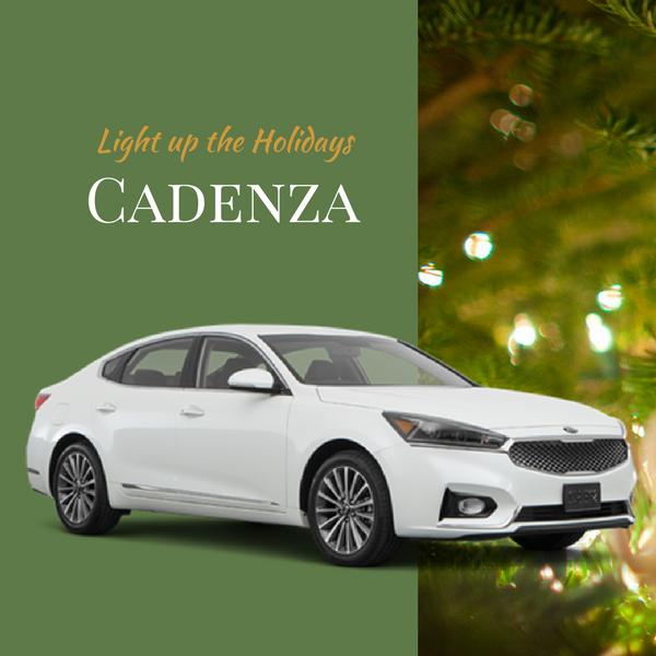 2017 Cadenza $309/Month