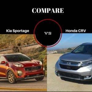 sportage vs. crv