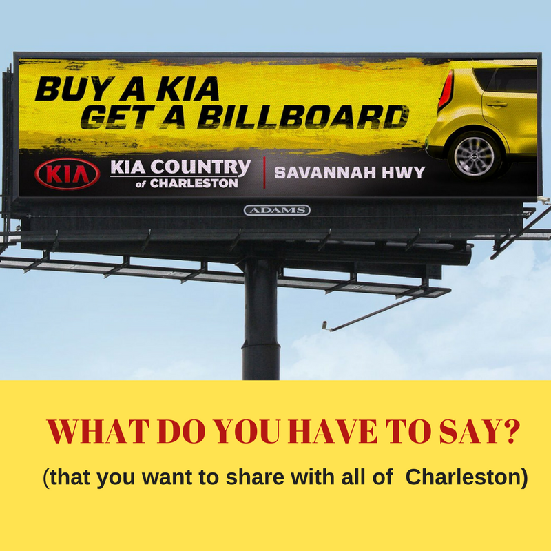 Buy a Kia, Get a Billboard