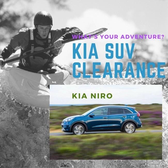 Summer SUV Clearance Event: Niro