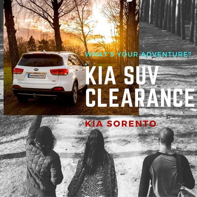 Summer SUV Clearance Event: Sorento