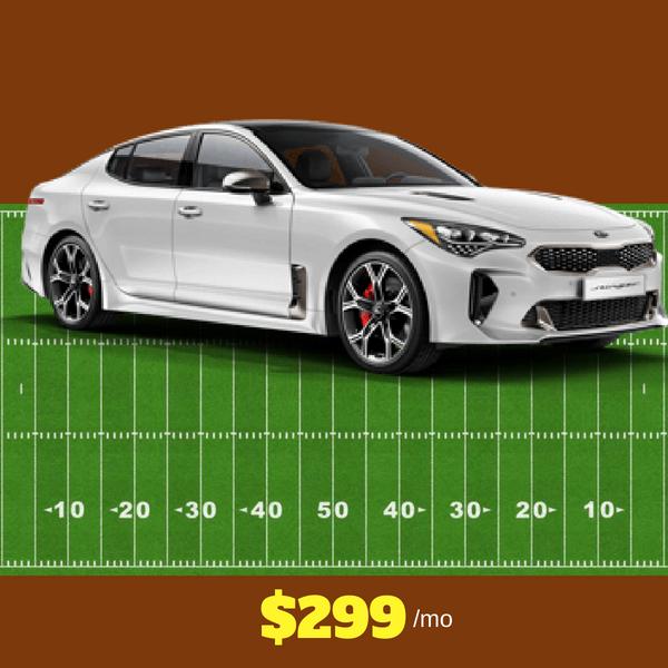 2018 Kia Stinger $299/mo