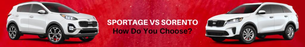 Sportage vs. Sorento