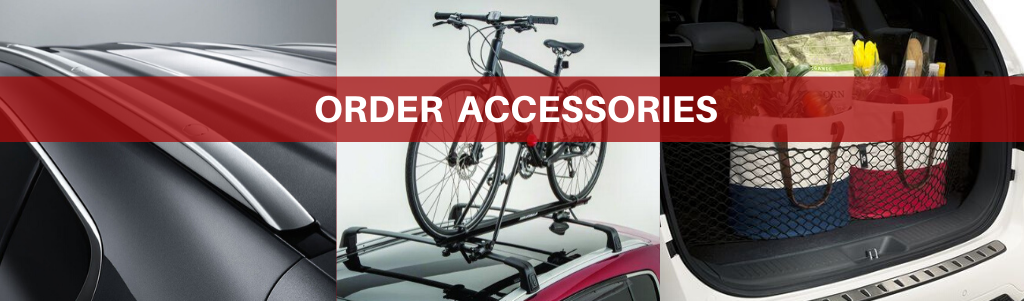 Order Accessories page header
