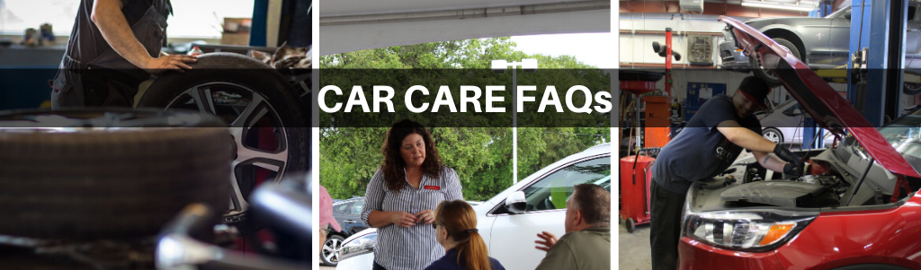 Car Care FAQ page Header