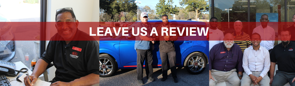 Leave us a Review page header