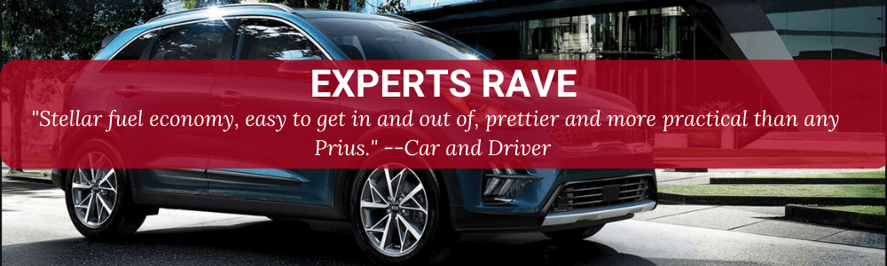 """EXPERTS RAVE """"STELLAR FUEL ECONOMY, EASY TO GET IN AND OUT OF, PRETTIER AND ORE PRACTICAL THAN ANY PRIUS.""""--CAR AND DRIVER"""