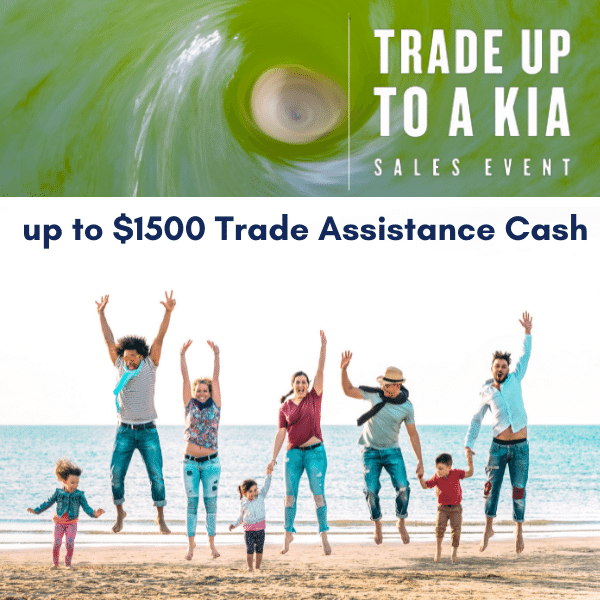 Trade Up to a New Kia Sales Event