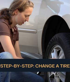 change tire