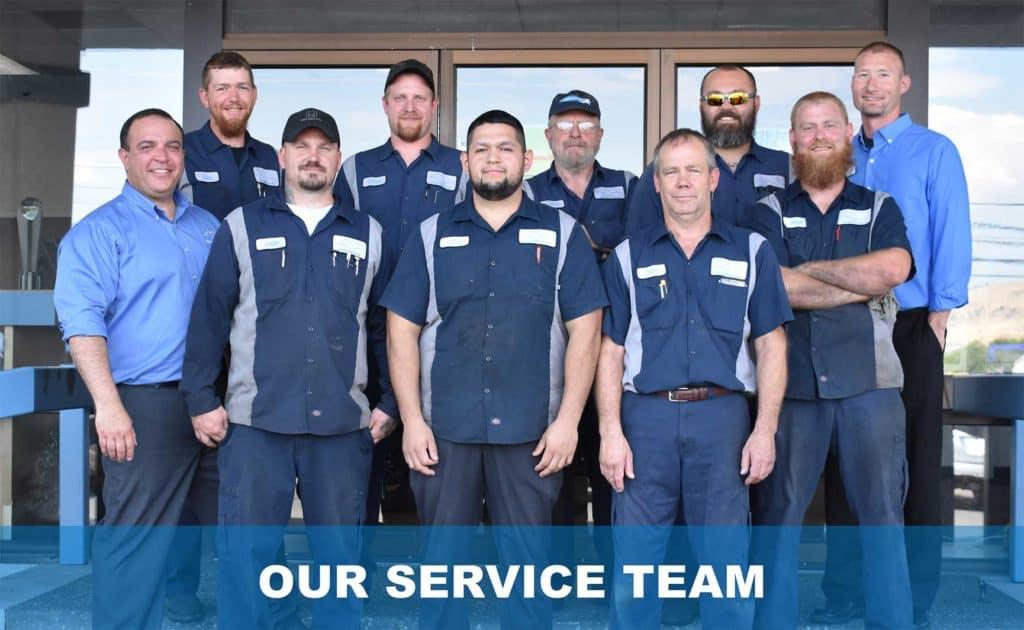 Service Team Pic